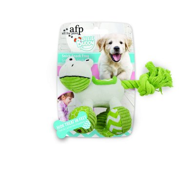 All For Paws Little Buddy Snick Snack Frog
