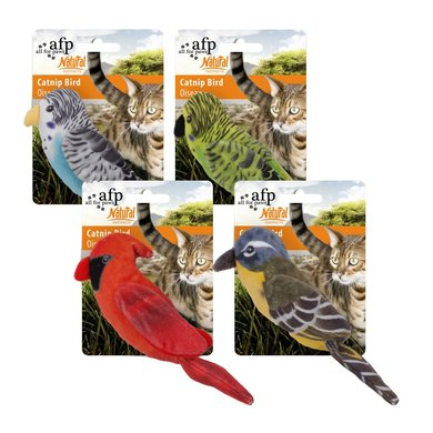 All For Paws Naturel Catnip Birds Assorted