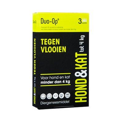 Duo-op Tegen Vlooien Hond&kat Tot 4kg