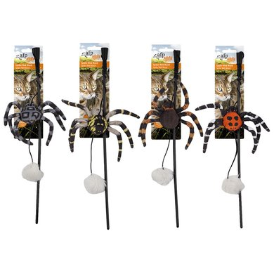 All For Paws Naturel Spider Web Wand Assorted