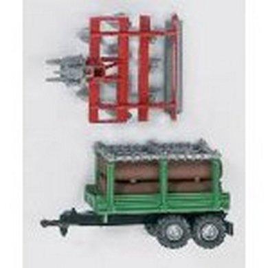 Agradi Mini Kultivator en Houttransportaanhang