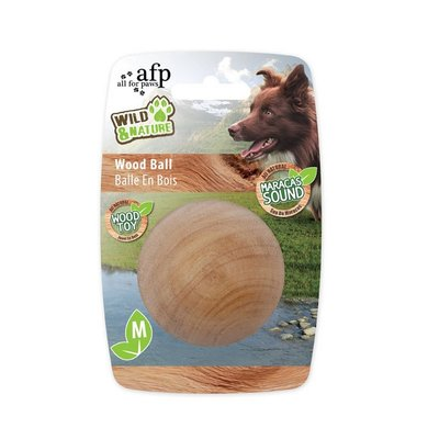 All For Paws Wild And Nature - Maracas Wood Ball M