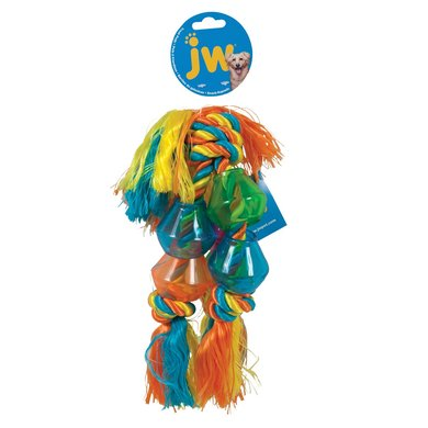 Jw Trio Rope Treat Pod Multi Color 43cm