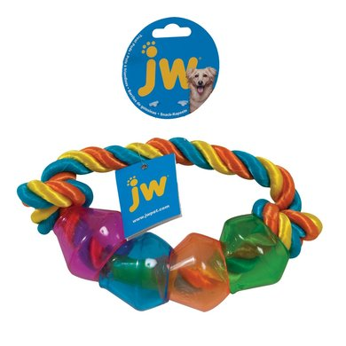 JW Treat Pod Rope Ring Large Multi Color 22cm