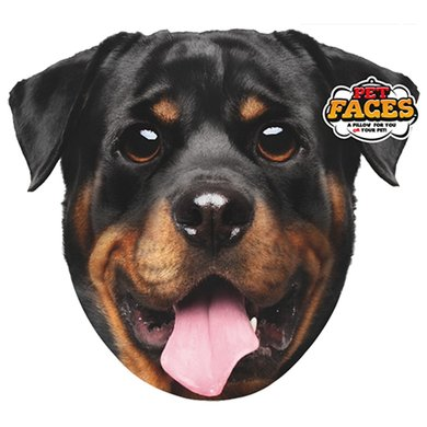 Pet Faces Rottweiler