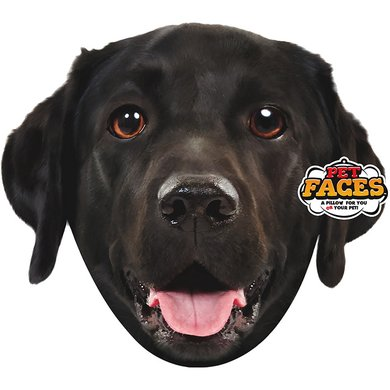 Pet Faces Blach Labrador