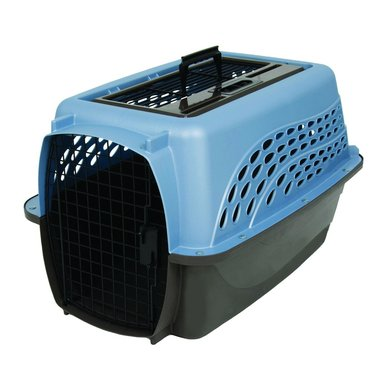 Petmate 2 Door Top Load Kennel (4,5-9kg) Parel/bruin 61cm