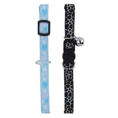 Agradi Cat Collar Black&white, Marbling