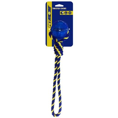 Braided Know Tug Medium With Tpr Ball 35cm