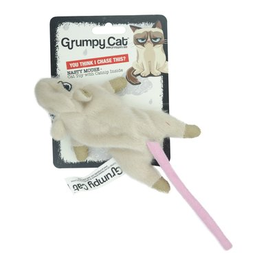 Grumpy Cat Nasty Mouse Cat Toy