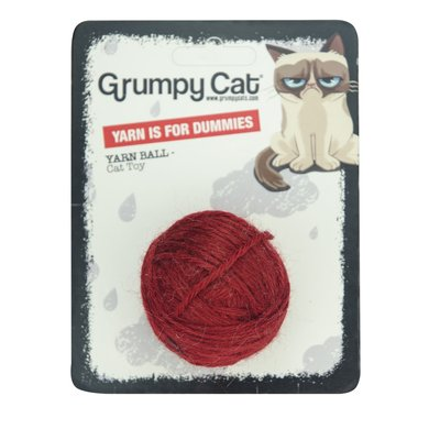 Grumpy Cat Yarn Ball for Dummies Cat Toy