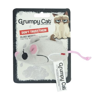 Grumpy Cat Blind Mice Dont trust them Cat Toy
