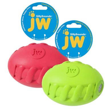Jw Sillysounds Spiral Football Medium 15cm