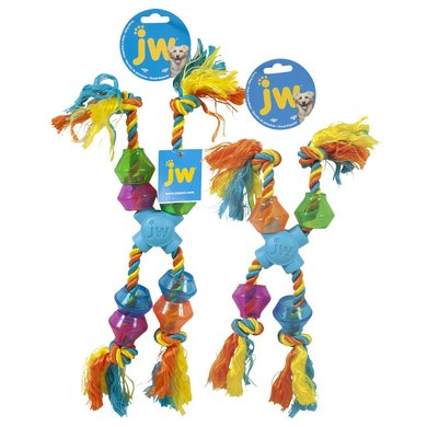 Jw X-pod Treat Rope Small Multi Color 28cm