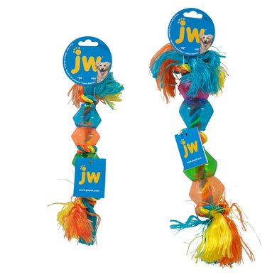 Jw Triple Knot Treat Pod Small Multi Color 30cm