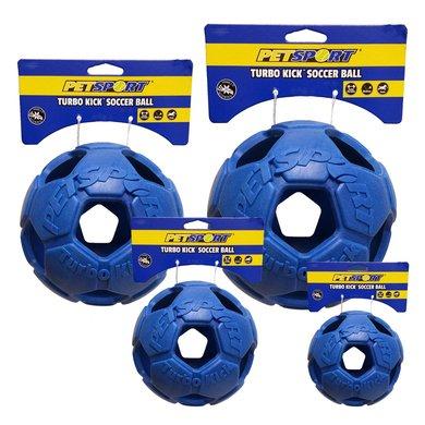 Turbo Kick Soccer Ball Blau 15cm