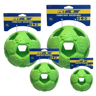 Turbo Kick Soccer Ball Groen 20cm