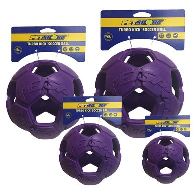 Turbo Kick Soccer Ball Violett 10cm