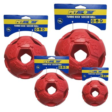 Turbo Kick Soccer Ball Rood 10cm