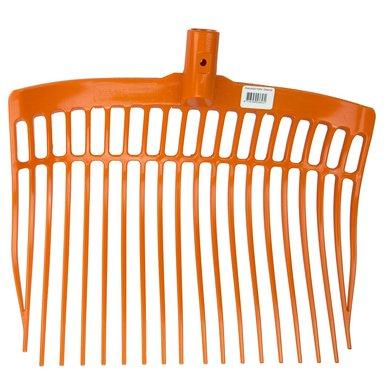 Mestvork Kunststof Zonder Steel Orange