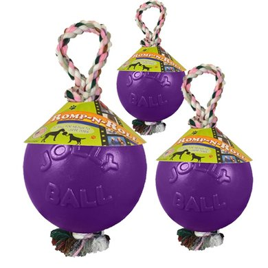 Jolly Ball Romp-n-roll Paars 10cm