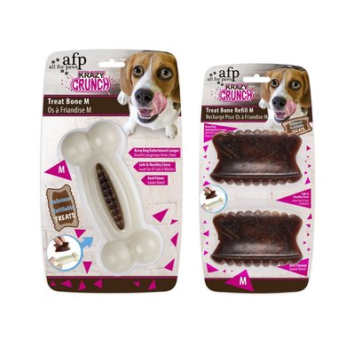 All For Paws Krazy Crunch-treat Bone With 1 Treat M