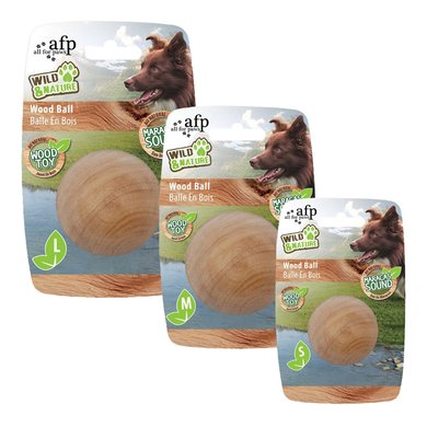 All For Paws Wild And Nature - Maracas Wood Ball S