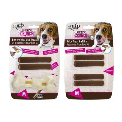 All For Paws Krazy Crunch-bone Stick Treat Bone 2 Treats M