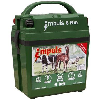 Agradi Weidezaun-batteriegerät Impuls 6km