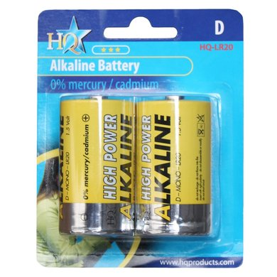 HQ Ensemble de Batterie Alcaline D Pestgarden