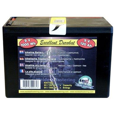 Batterij Durobat 9v/120ah (h11,4 X L16,6 X B11,2cm)