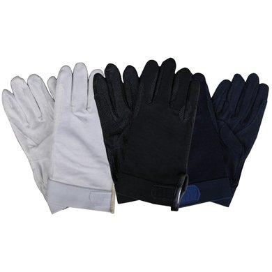 Agradi Rijhandschoen Katoen F-grip Zwart XL 9
