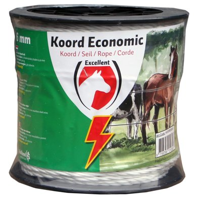 Excellent Koord Eco Wit 200m/6mm