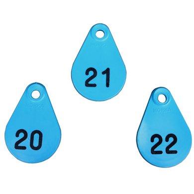 Agradi Nekplaatjes Blauw 126/150