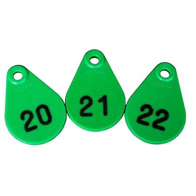 Agradi Nekplaatjes Groen 251/275