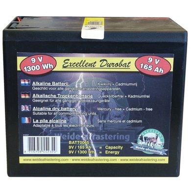 Batterij Durobat 9v / 165ah (h16 X L19 X B13 Cm)
