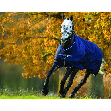 Amigo Pony Bravo-12 Turnout Heavy Navy/Navy 75/114