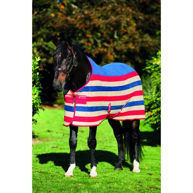 Rambo Deluxe Fleece WhitneyCherry 110/160