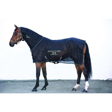 Sportz-vibe Paardendeken ZX Black Small