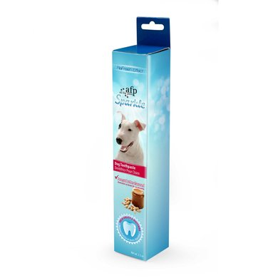 All For Paws Sparkle Toothpaste Peanut Butter Flavor