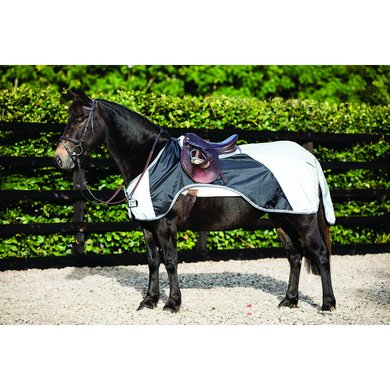 Rambo Pony Nightrider Silver/Black Small