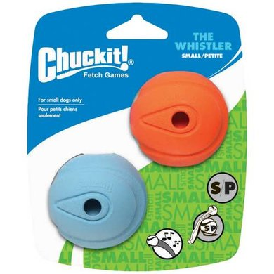 Chuckit The Whistler 2-pack Small