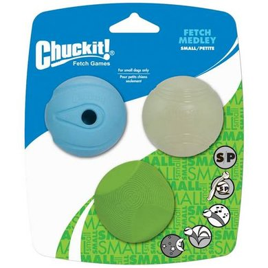 Chuckit Fetch Medley 3-pack S