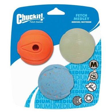 Chuckit Fetch Medley 3-pack M