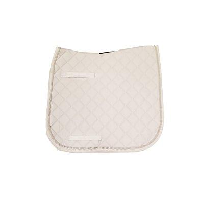 Rambo Dressage Pad White/White Cob/Full