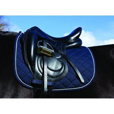 Rambo Zadeldekje Veelzijdigheid Navy/Beige Pony/Cob