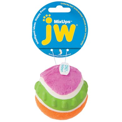 JW Mixups Ribbed Ball Medium