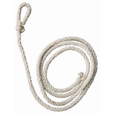 Koetouw wit sisal standaard 2m