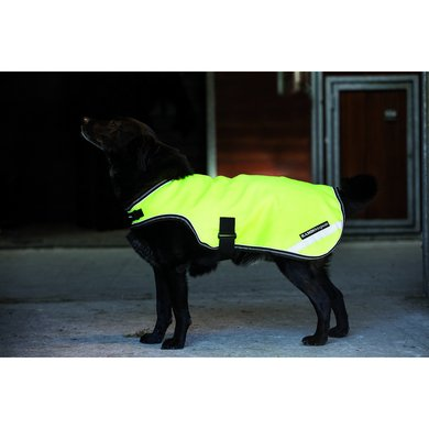 Rambo Reflective Dog Rug Geel Small