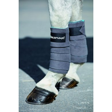 Horseware Fleece Bandages Charcoal One Size